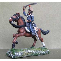 Officer of Lancers or Light Cavalry Regiment, charging