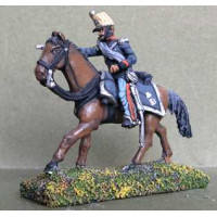 Officer of Light Cavalry or Lancers, charging
