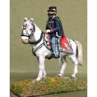 Vittorio Emanuele II, King of Italy, mounted