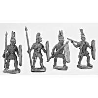 Lighter spearmen (class III)