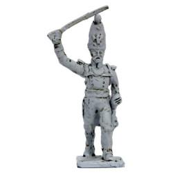 Officer of Grenadiers Rgt. 'Pavlov', attack march, 1812
