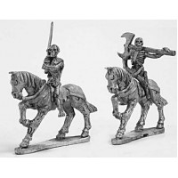 Skeleton cavalry with two hand weapons 2