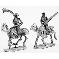 Skeleton cavalry with two hand weapons 3