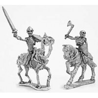 Skeleton cavalry with hand weapons and shield 1