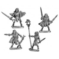 Wood Elf Spearmen Command Group